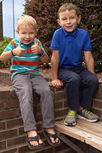 Aaron and Trent Heybruck